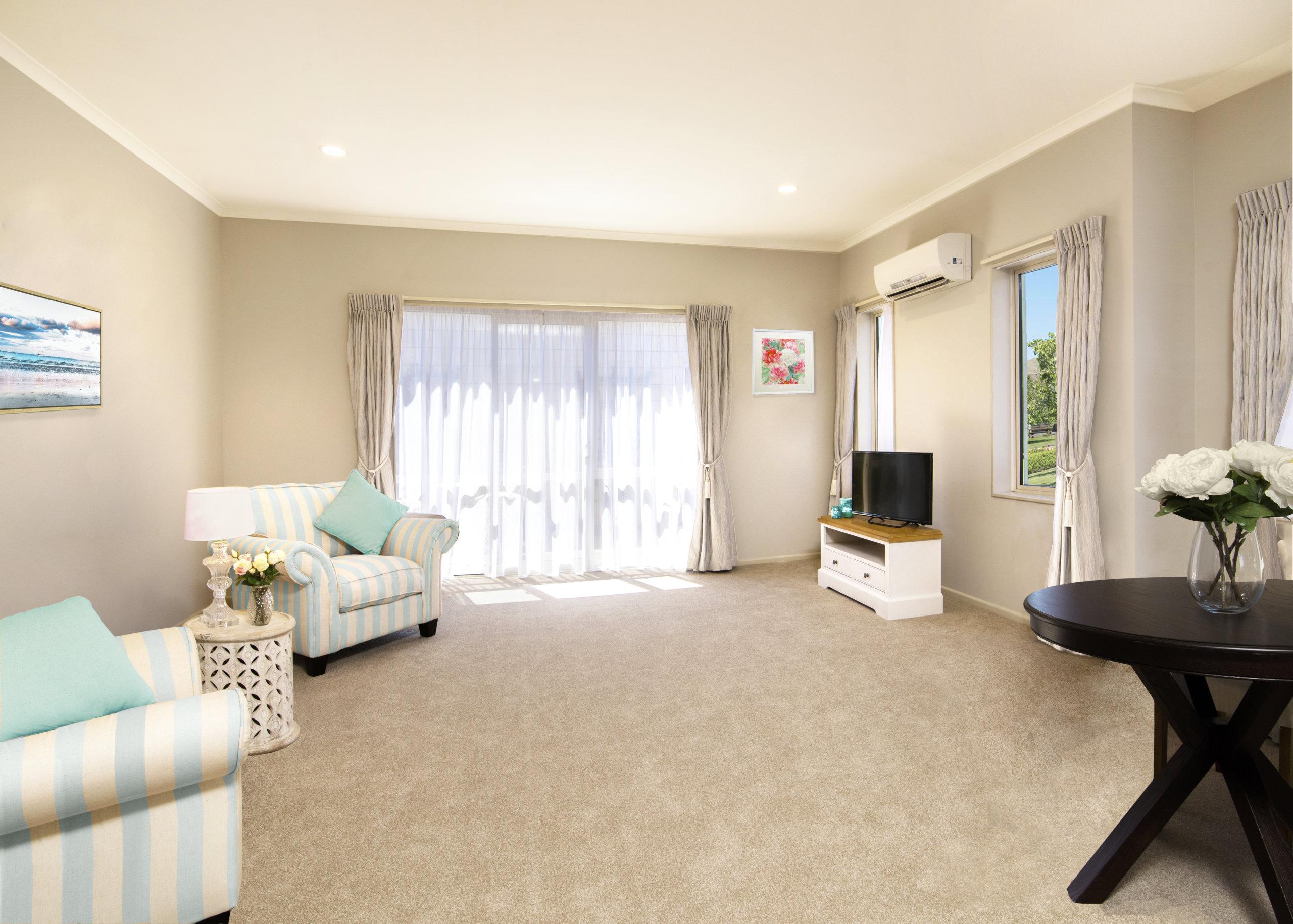 Redwood Retirement Village Villa Living Room