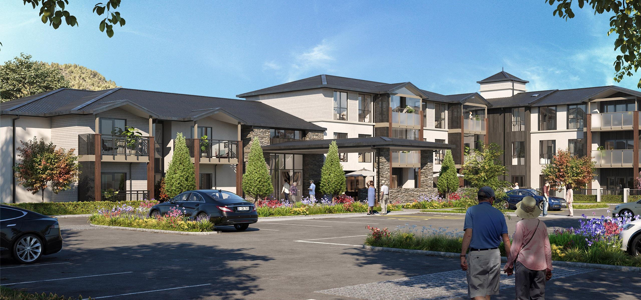 The Bellevue building render