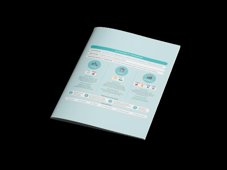 Oceania sustainability brochure